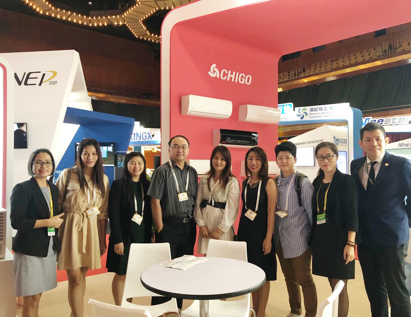 CHIGO showed up at the Malaysia-China Trade Expo 2019